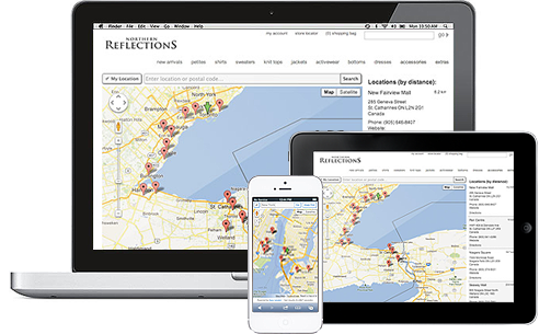 Mobile Friendly Dealer Locator